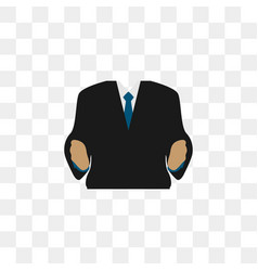 business man body graphic design vector image