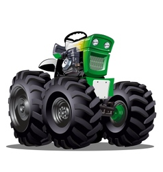 Cartoon Tractor vector