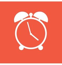 Flat clock vector