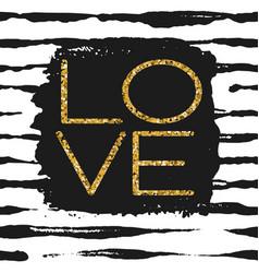 Love - romantic poster vector