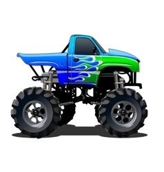 Cartoon Monster Truck vector image vector image