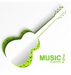 musical instrument concept vector image vector image