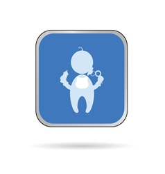 baby color vector image