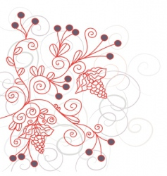 background swirls vector image