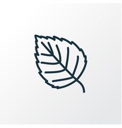 Birch icon line symbol premium quality isolated vector