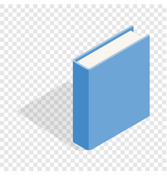 blue book isometric icon vector image