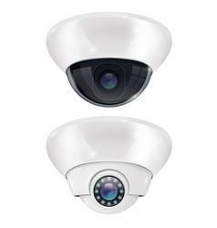 Cctv surveillance camera ceiling mount system vector