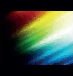dark color geometric background texture vector image