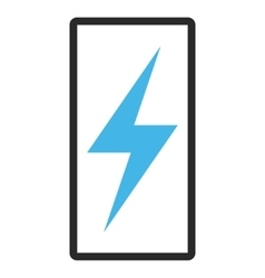 Electricity Framed Icon vector