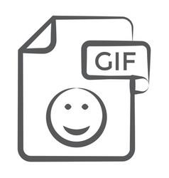 Gif file vector