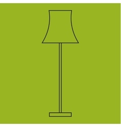 Icon of Lamps Modern outline style vector image