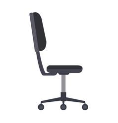 Office chair furniture equipment comfort wheel vector