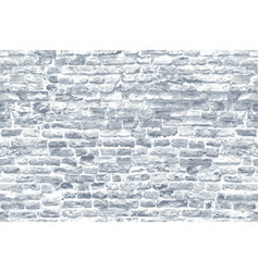 Seamless texture an old white brick wall vector