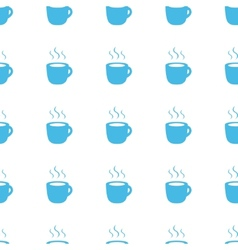 Unique Coffee seamless pattern vector image