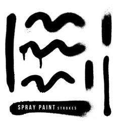 spray paint splatter texture vector image
