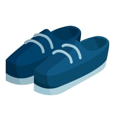 Boots icon isometric style vector image vector image