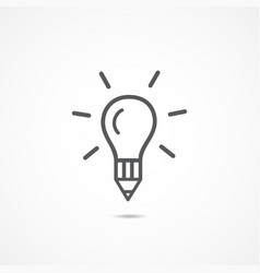 creative icon vector image