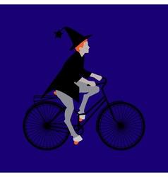 Night Halloween in October vector image