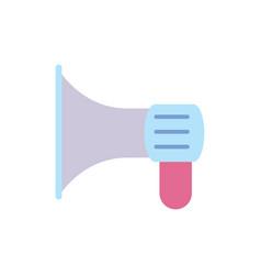director movie megaphone icon vector image