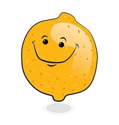 Doodle Orange Fruit vector image vector image