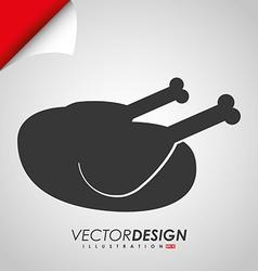 grill icon design vector image