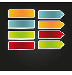 Label tabs vector