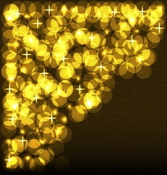 Shining Spotlights Nightclub Party Card vector