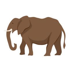 Stylized of elephant vector