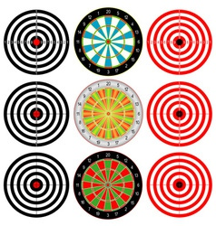 Targets Set vector