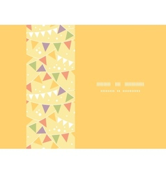 Party Decorations Bunting Horizontal Seamless vector image vector image