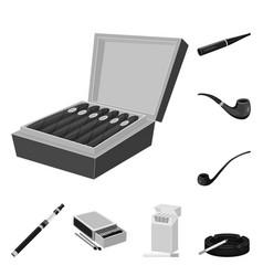 Design health and nicotine icon vector