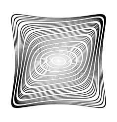 Design monochrome square background vector