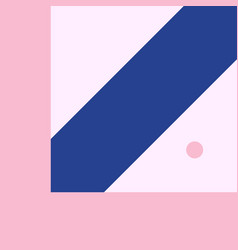 geometric background in material design vector image