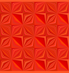 red geometrical striped shape tile mosaic pattern vector image