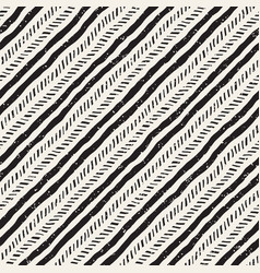 Seamless geometric pattern hand drawn abstract vector