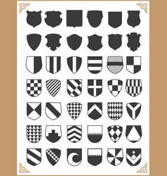 Set shields vector