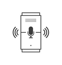 Voice assistant great design for any purposes vector