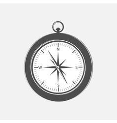 Compass design element vector image