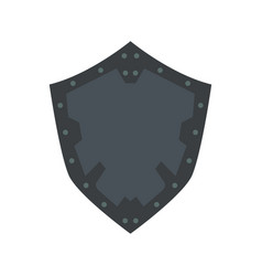 shield icon security protection symbol sign vector image