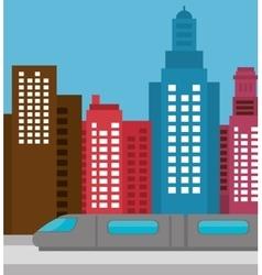 buildings concept design vector image