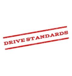 Drive Standards Watermark Stamp vector image