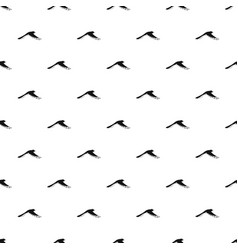 flying magpie pattern seamless vector image