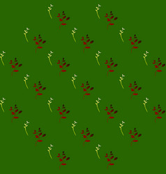 Leaves pattern endless background seamless vector