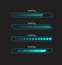 loading icon design vector image