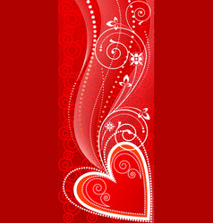Love ornament vector