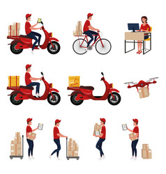 Set delivery vector