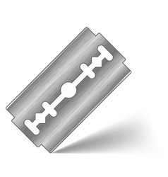 Traditional double edge razor blade tool for vector