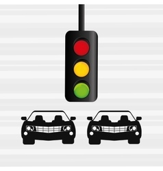 Traffic sign design vector