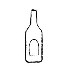 Winne bottle beverage vector image