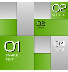 business squares green full page with text vector image